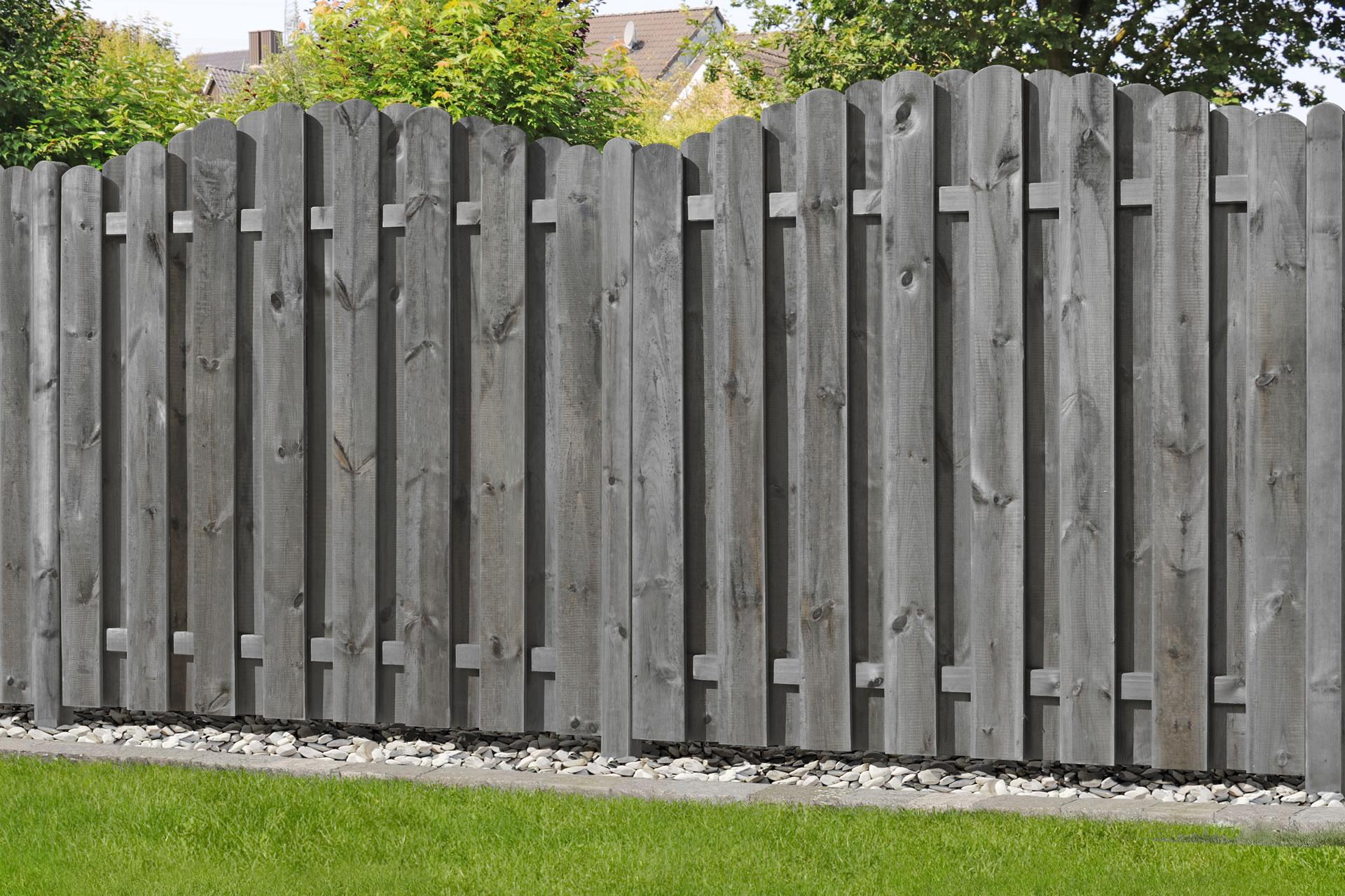 Bohlen Zaun